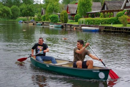Kanu auf der Recknitz