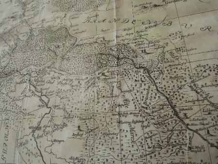 Karte der Altmark