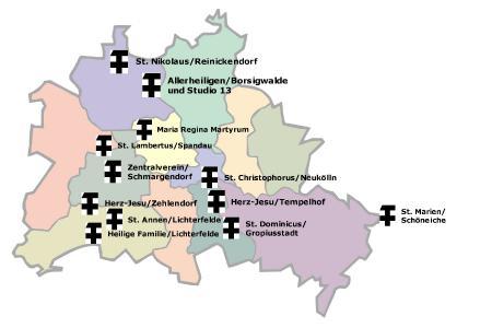 KAB-Vereine im Diözesanverband Erzbistum Berlin
