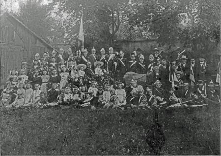 Kindervogelschießen 1913