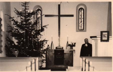 Kirche Altar nach 1962