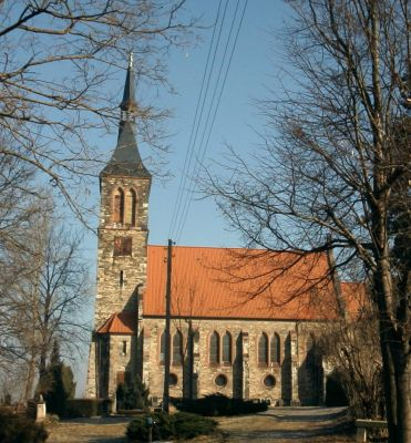 Öåðêîâü â Ãðàìñäîðôå - Kirche Gramsdorf - russisch