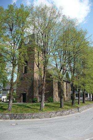 Kirche Hülsenbusch außen