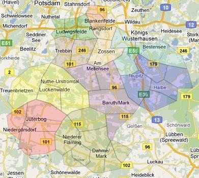 Kirchenkreis-Karte