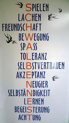 Logo und Motto