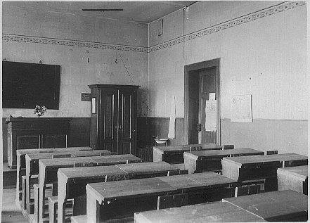 Klassenzimmer 1909