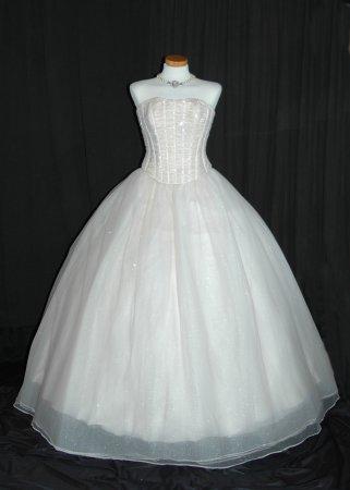 Kleid mit neuem Reifrock