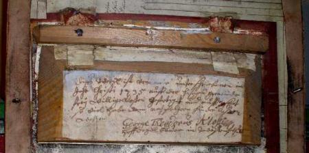 Inschrift von Kloß