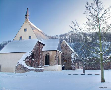 Winter im Kloster