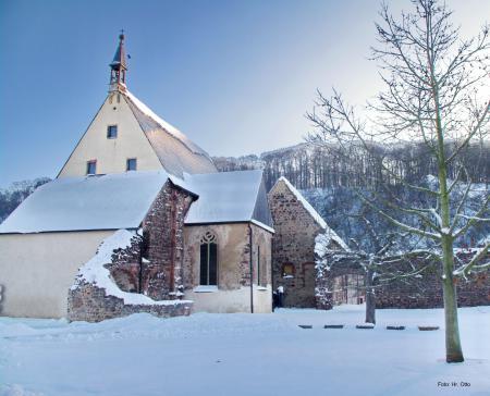 Winter im Kloster