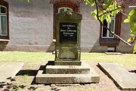 Klosterfriedhof_Gedenkstein_Anna_Catharina_Asmussen