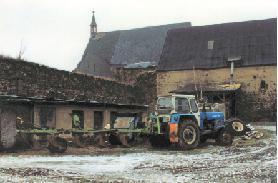 Das Klostergut zu DDR-Zeiten (Foto: H. Ries)