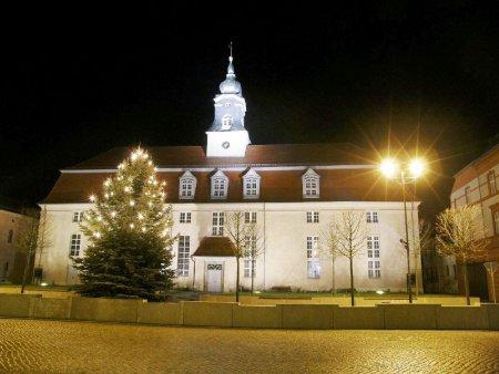 Weihnachtliches Kloster