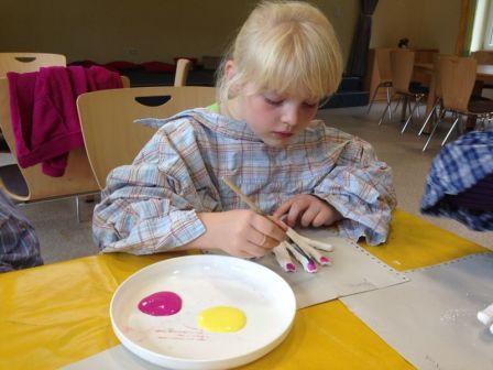Kreatives Basteln und Spielen