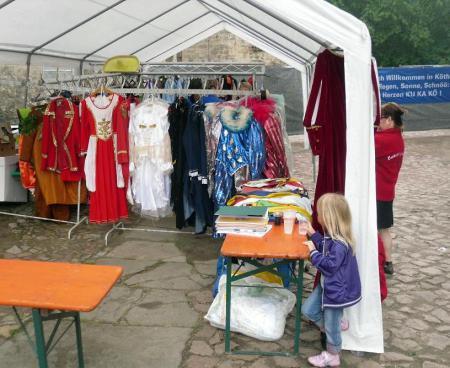 Kostümbörse beim Kuhfest