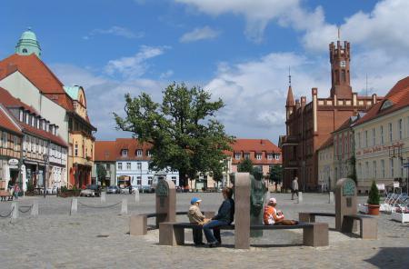 Kyritz - Marktplatz