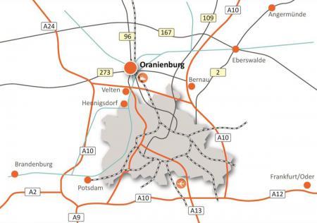 Lage bei Berlin complan