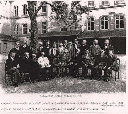Lehrer 1930
