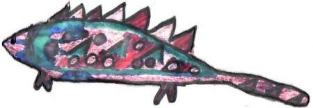 Fisch/Reptiel