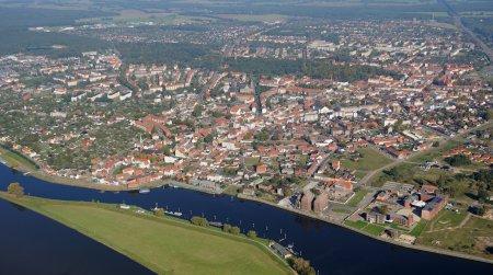 Luftbild Wittenberge