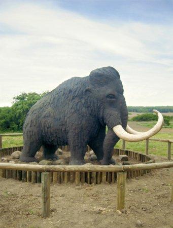 lebensgroßes Mammut
