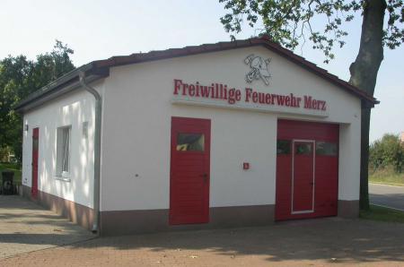 Feuerwehrgerätehaus Gemeindeteil Merz