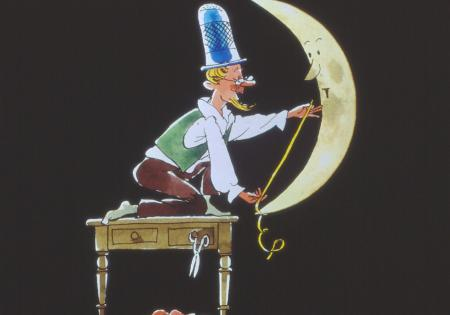 Als der Mond zum Schneider kam