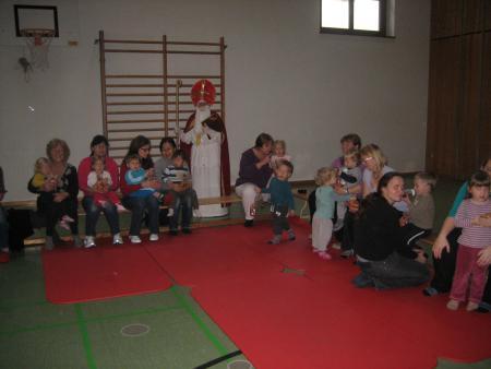 Nikolaus Eltern-Kind-Turnen 2013