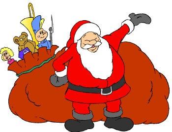 Der Nikolaus mit Sack