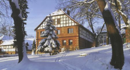 Die Ölmühle bei Otterstedt.
