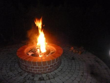Offene Feuerstelle