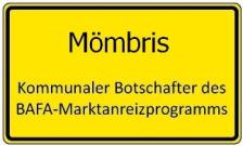 Ortsschild Mömbris