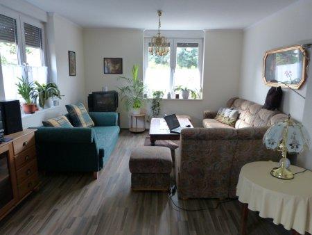 Die gemütliche Sitzecke im Wohnzimmer