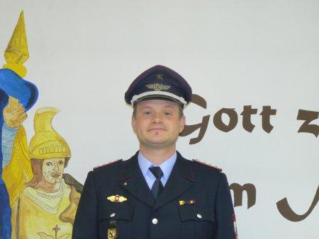 Stadtwehrleiter Kai Virchow
