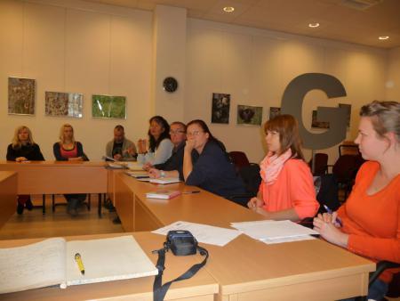 Treffen der Arbeitsgruppe