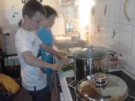 Kochen im Treff