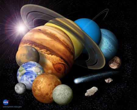 Planetenreise, Bild: NASA