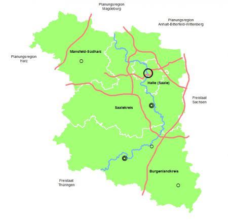 Planungsregion Halle