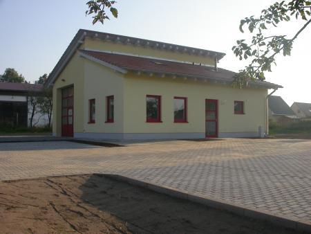 Feuerwehrgerätehaus Ortsteil Pohlitz