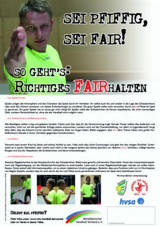 Poster FAIRhalten