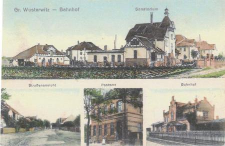 Postkarte - Wusterwitz von 15.11.1912
