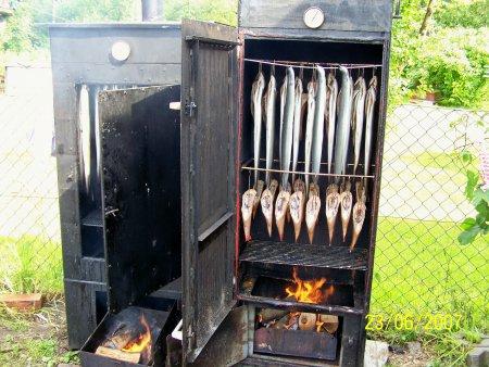 Wasserwanderrastplatz Marlow - Frischer Fisch aus dem Rauch