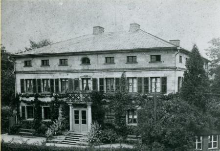 Rathaus in den 1910er Jahren