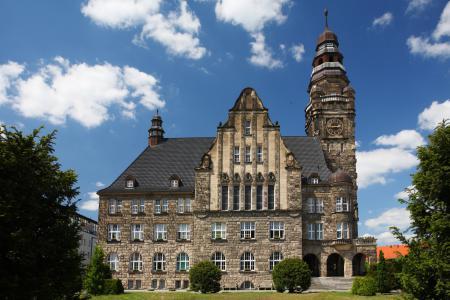 Rathaus Frontalansicht