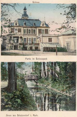 Rittergut-Schloss mit Parkanlage