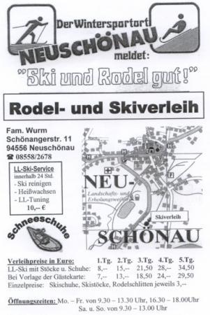 Rodelverleih