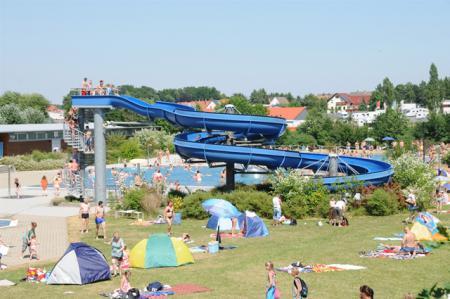 Sommer im Freibad Albertine