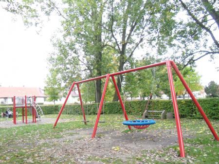 Stadtgarten -Schaukel