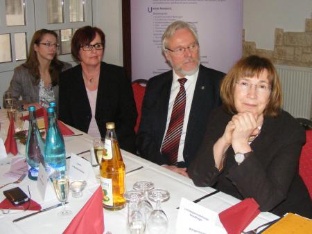 Sabine Hübner, Dr Burkhard Schröder, Catrin Seeger, Jana Reinhard.JPG