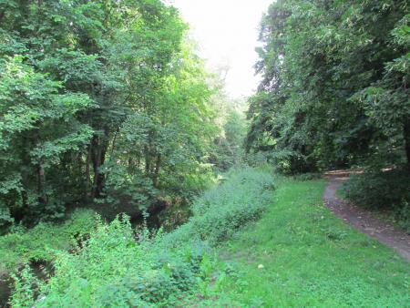Schlosspark am Fließ
